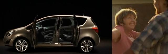 Opel Meriwa Werbung